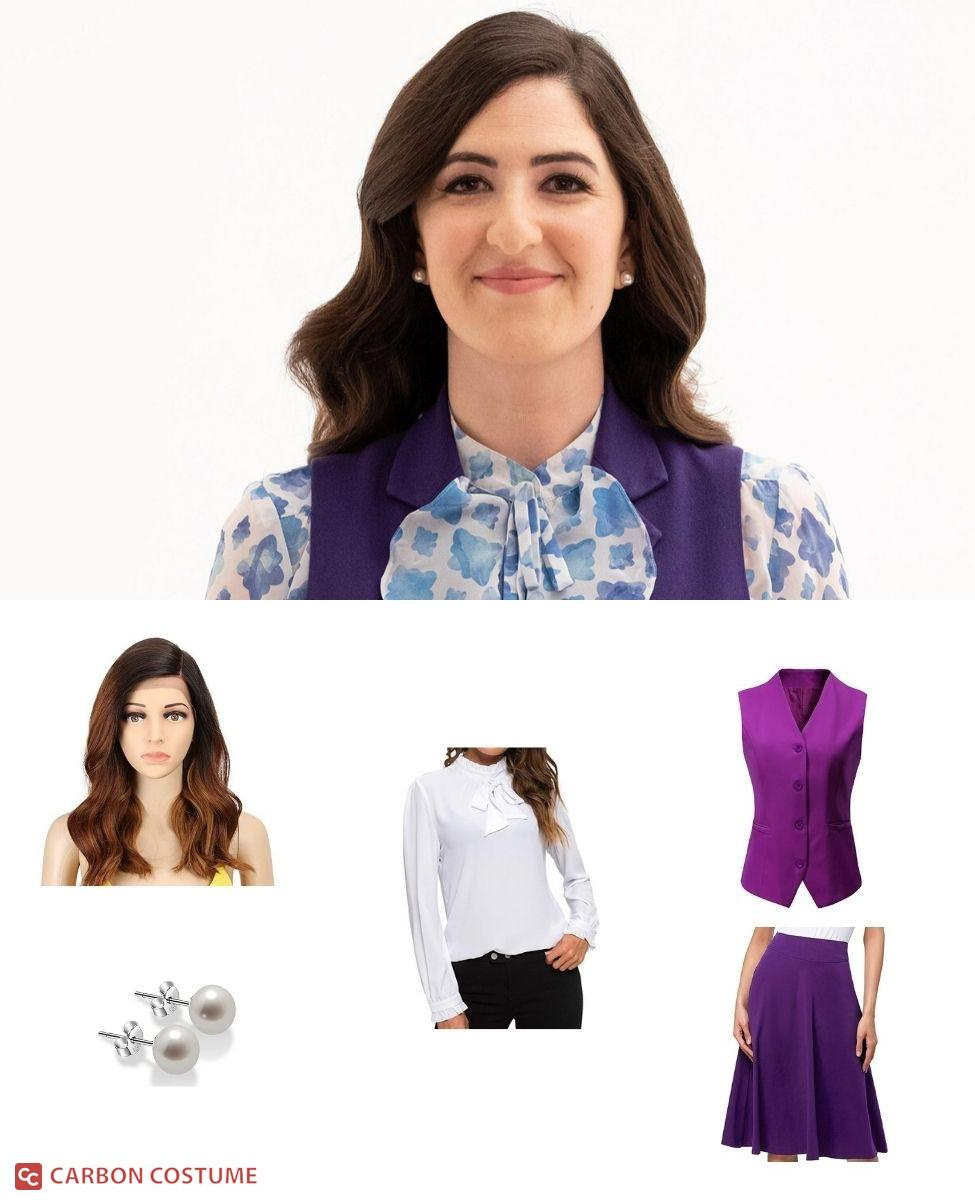 Janet from The Good Place Cosplay Guide
