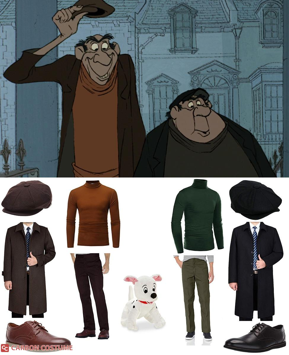 Jasper and Horace from 101 Dalmatians Cosplay Guide