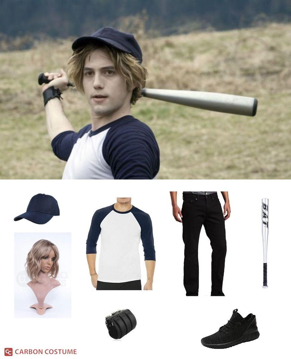 Jasper Hale in the Baseball Scene from Twilight Cosplay Guide
