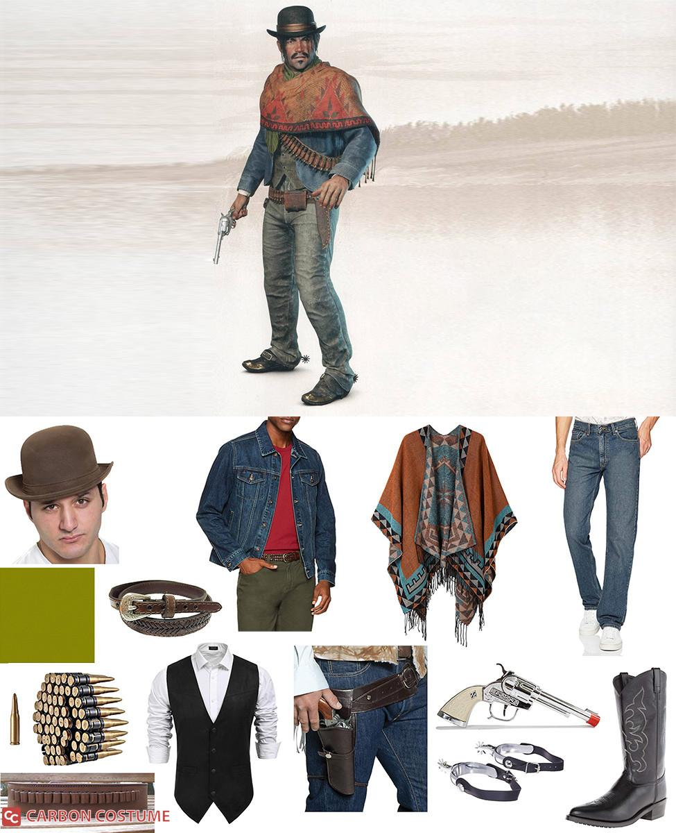 Javier Escuella from Red Dead Redemption 2 Cosplay Guide