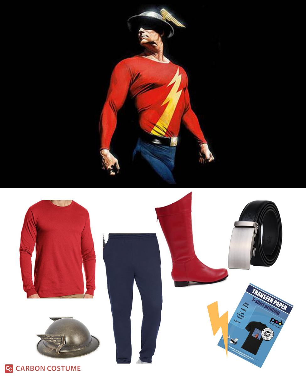 Jay Garrick from The Flash Cosplay Guide