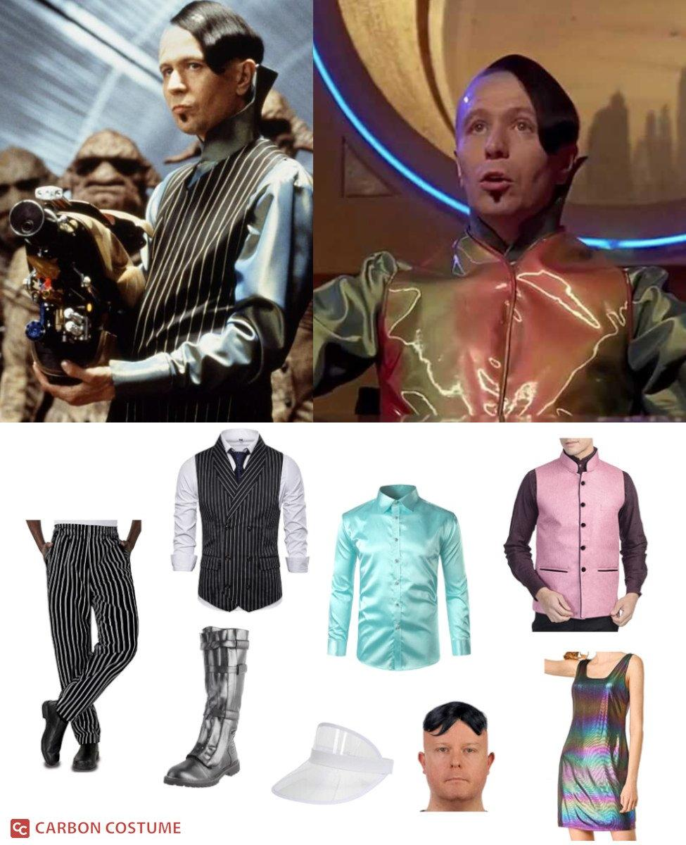 Jean-Baptiste Emanuel Zorg from The Fifth Element Cosplay Guide