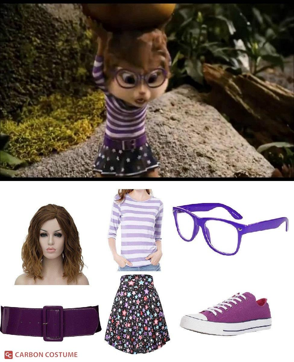 Jeanette Miller from Alvin and the Chipmunks (2005) Cosplay Guide