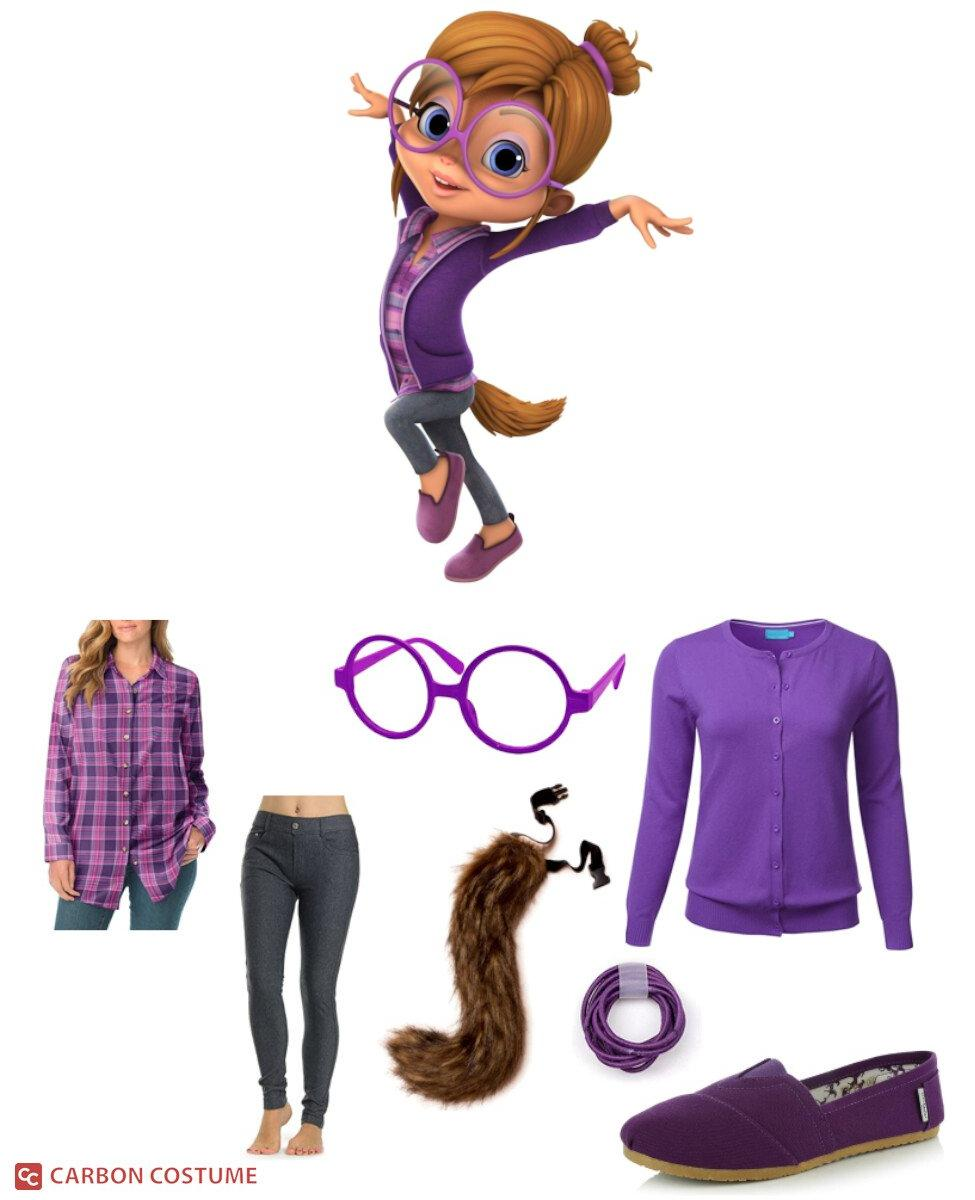 Jeanette Miller from Alvin and the Chipmunks (2015) Cosplay Guide
