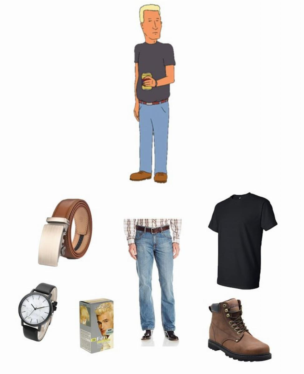 Jeff Boomhauer in King of the Hill Cosplay Guide