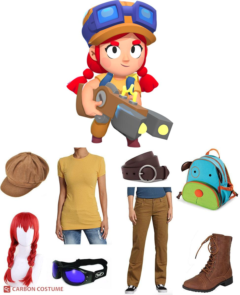 Jessie from Brawl Stars Cosplay Guide