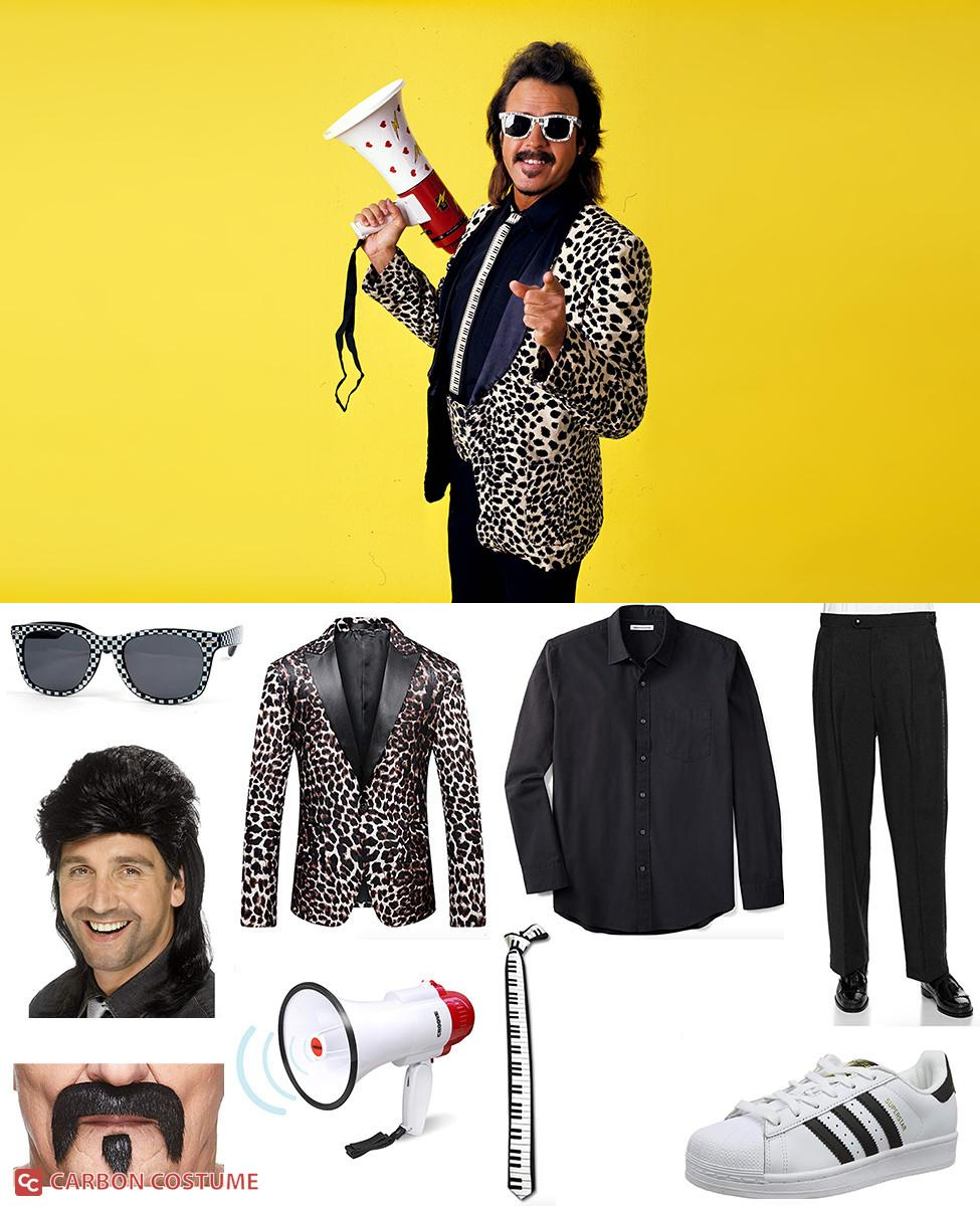 Jimmy Hart Cosplay Guide