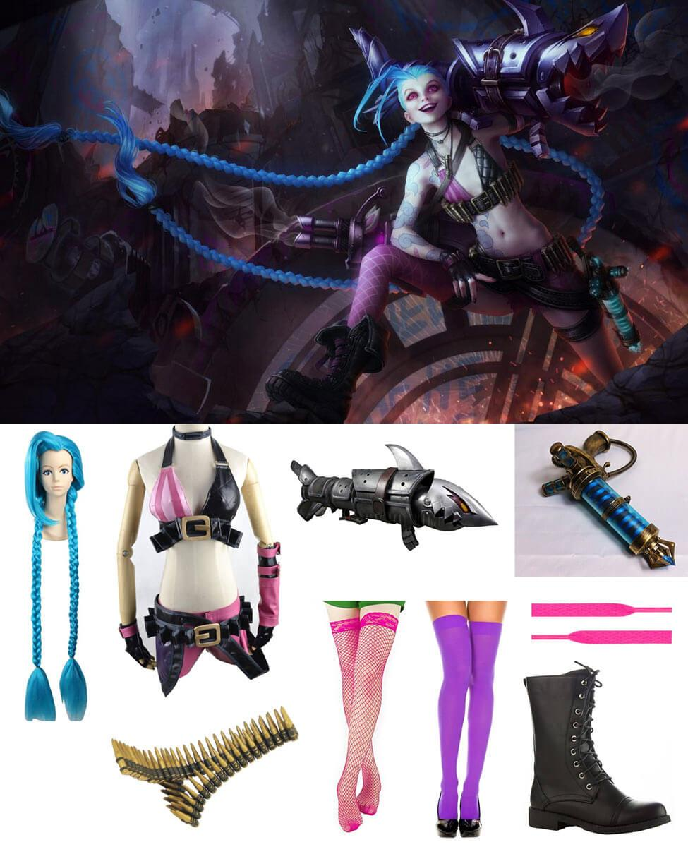 Jinx in League of Legends Cosplay Guide