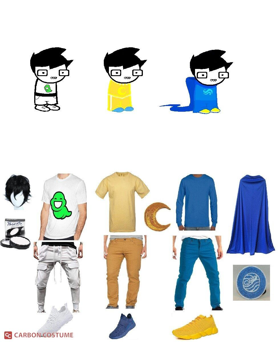 John Egbert from Homestuck Cosplay Guide