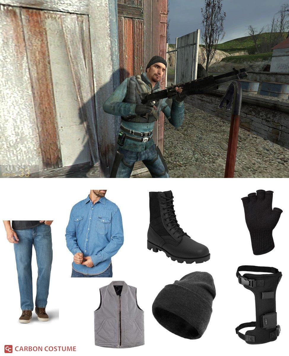 John Freeman from Half-Life:  Full Life Consequences Cosplay Guide