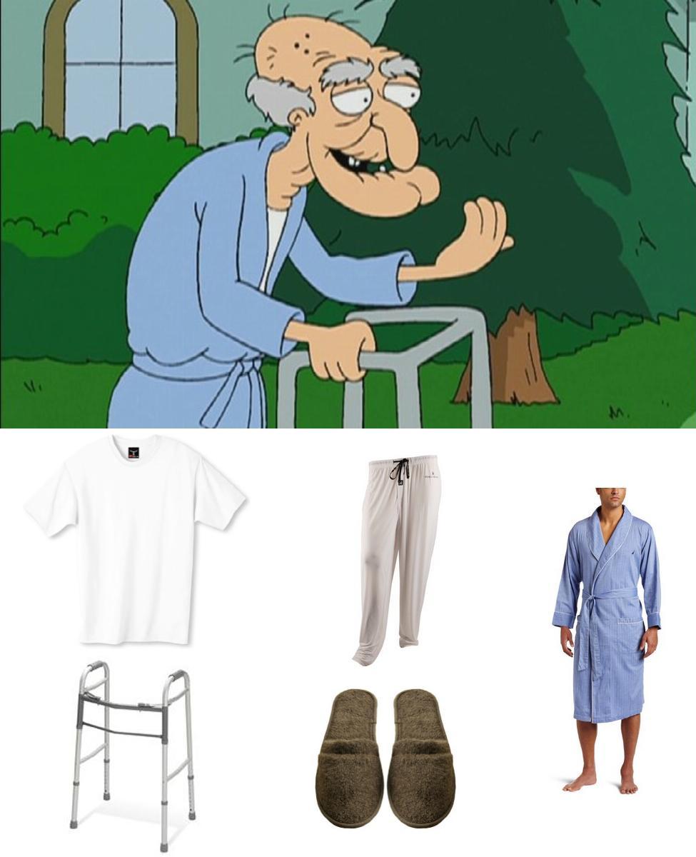 John Herbert from Family Guy Cosplay Guide