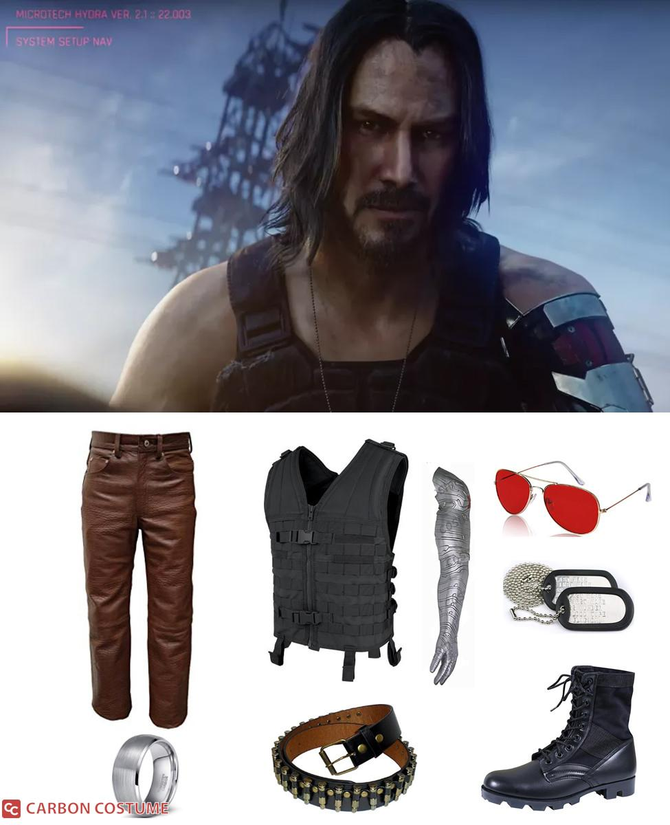 Johnny Silverhand from Cyberpunk 2077 Cosplay Guide