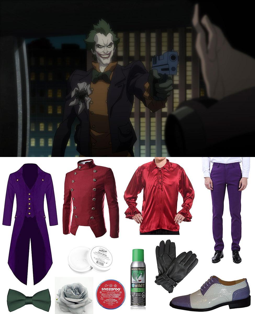Joker from Batman: Assault on Arkham Cosplay Guide