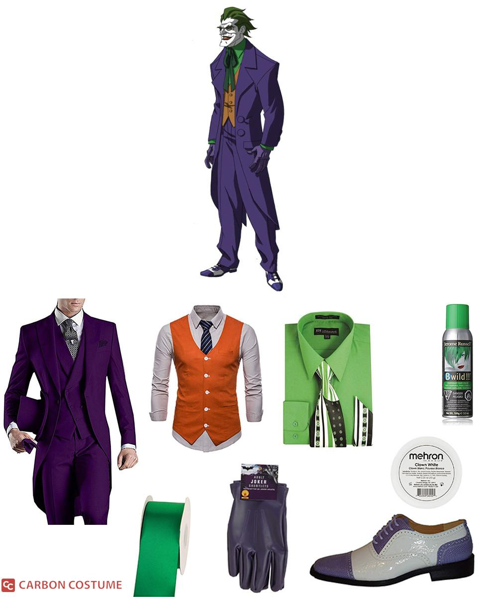 Joker from Under the Red Hood Cosplay Guide