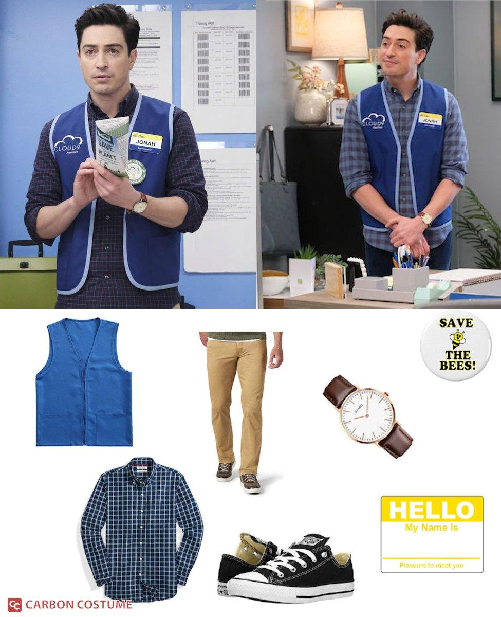 Jonah Simms from Superstore Cosplay Guide