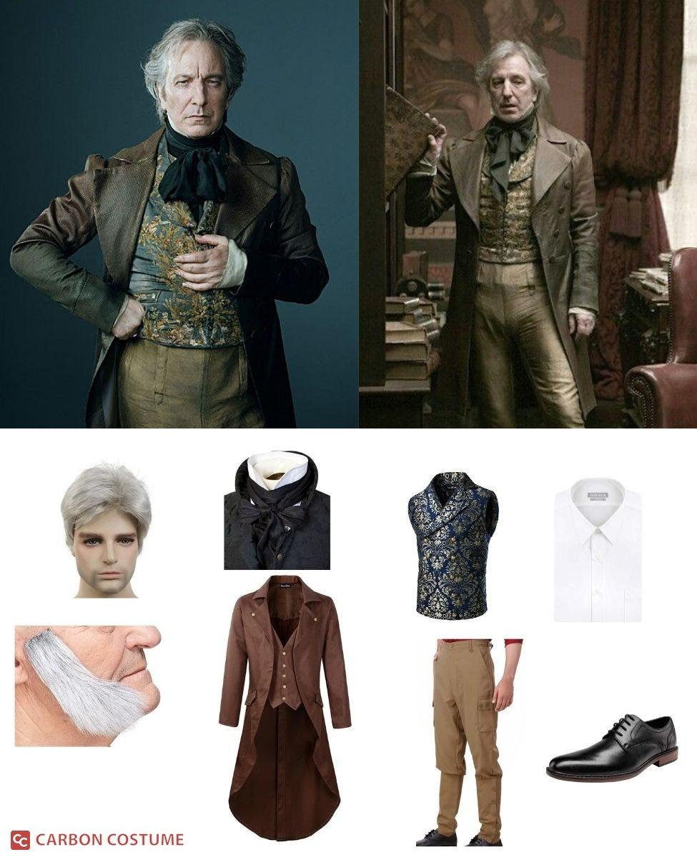 Judge Turpin from Sweeney Todd Cosplay Guide