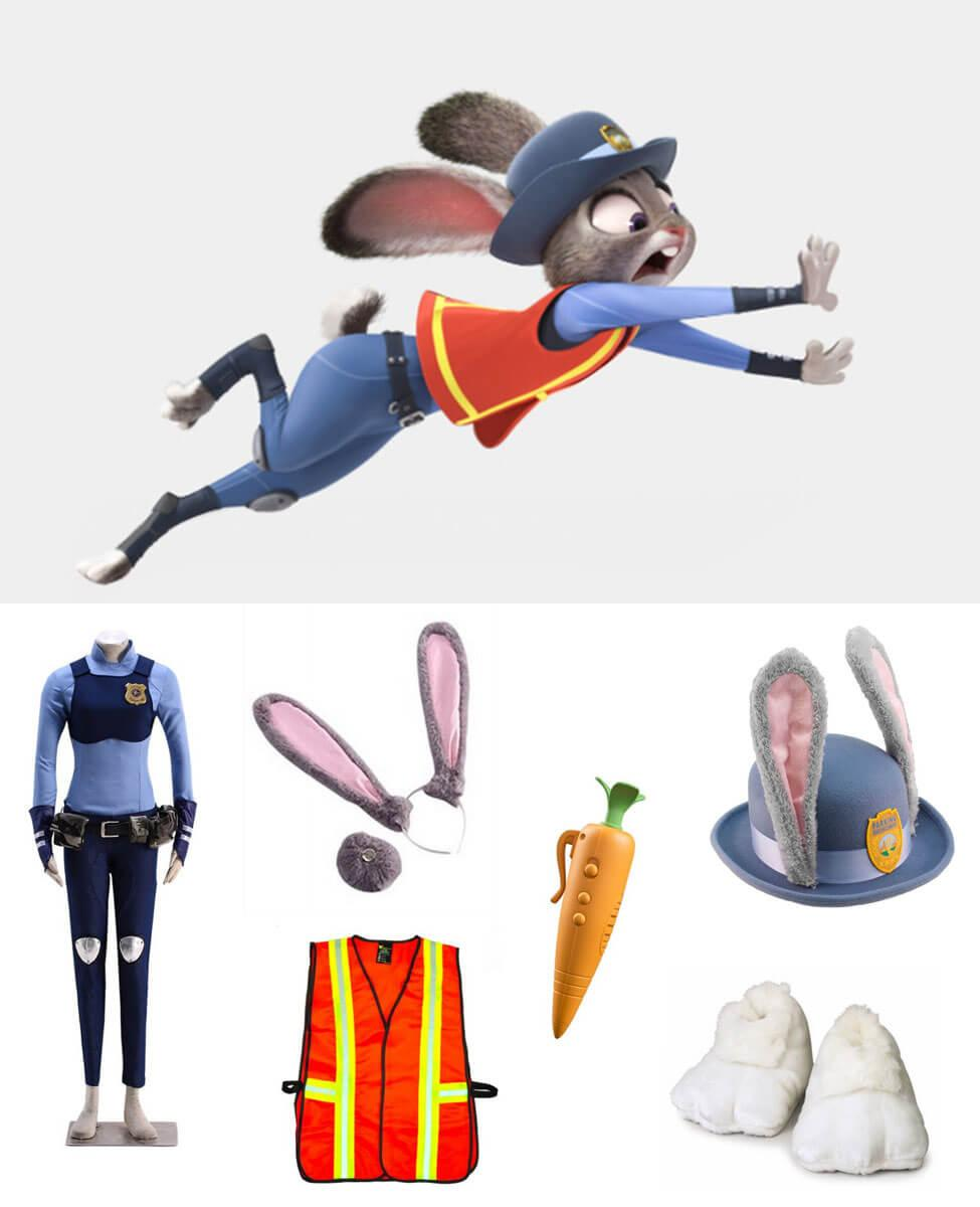 Judy Hopps in Zootopia Cosplay Guide
