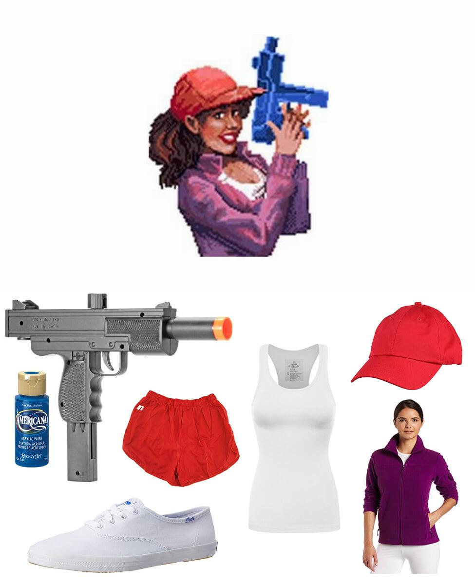 Julie from Zombies Ate My Neighbors Cosplay Guide
