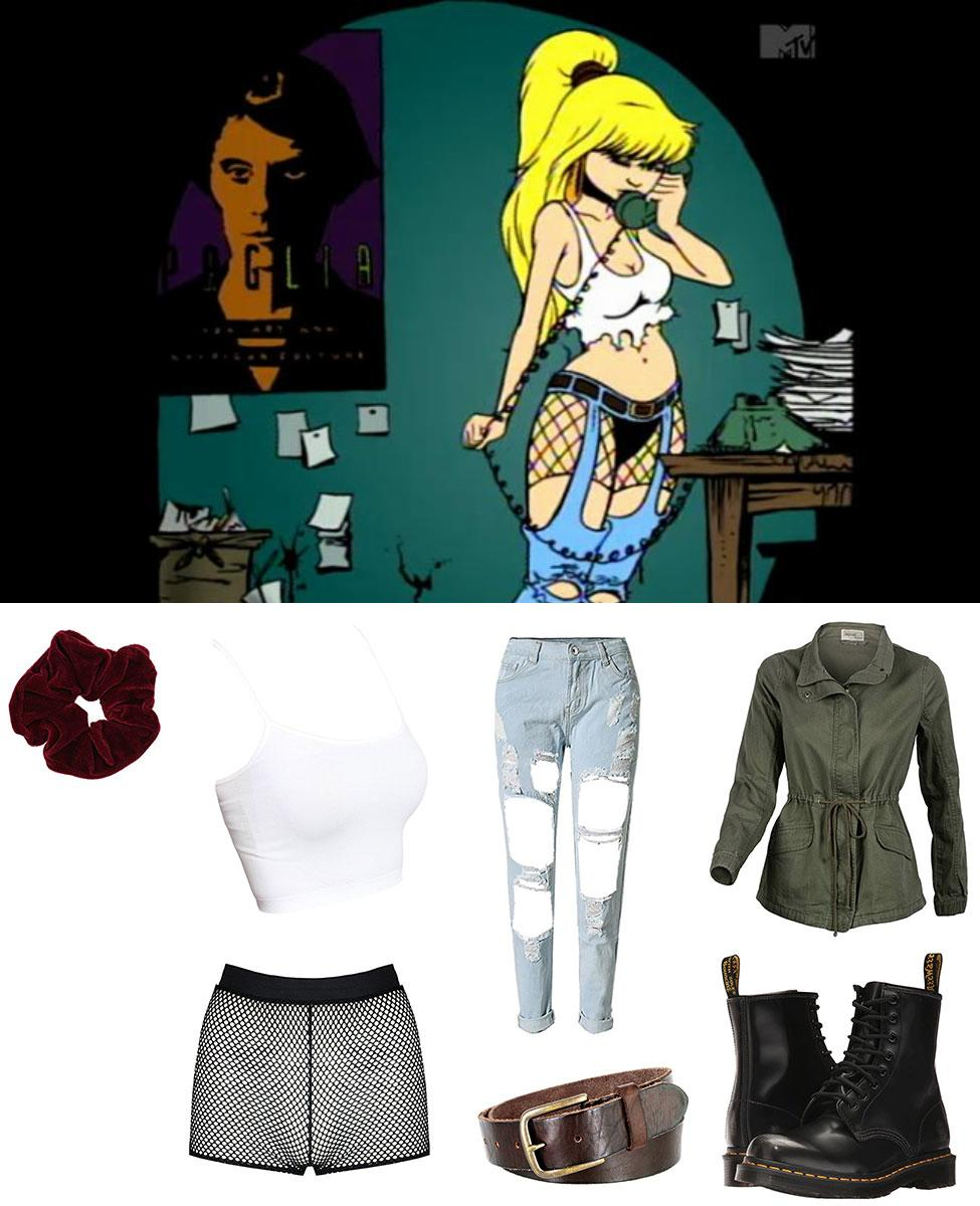 Julie Winters from The Maxx Cosplay Guide