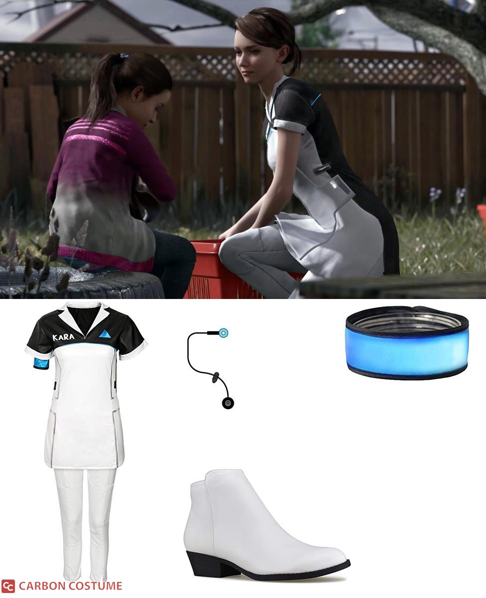 Kara from Detroit: Become Human Cosplay Guide