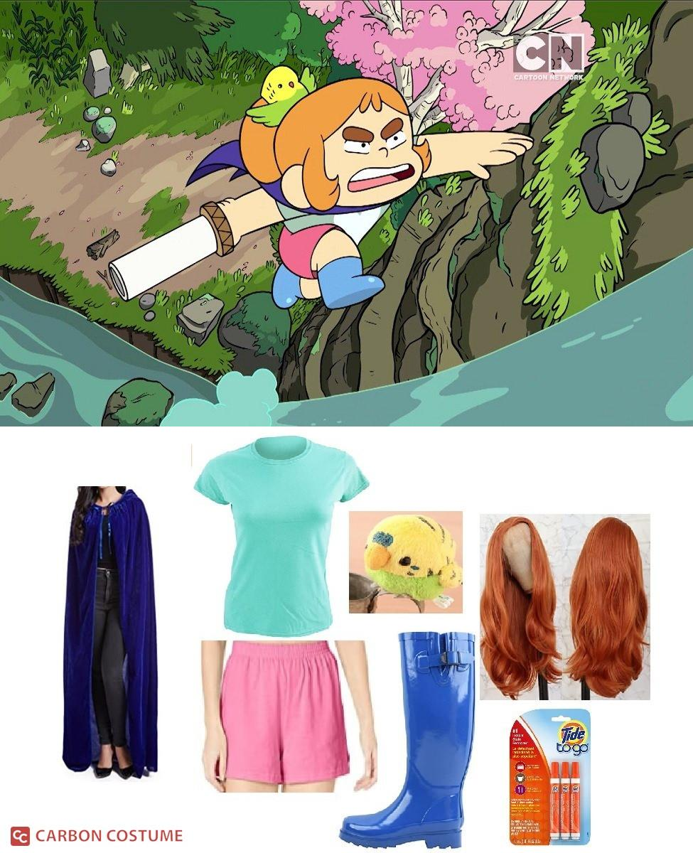 Kelsey Pokoly from Craig of the Creek Cosplay Guide