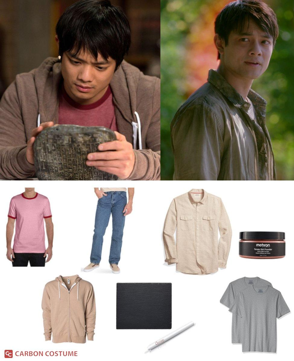Kevin Tran from Supernatural Cosplay Guide