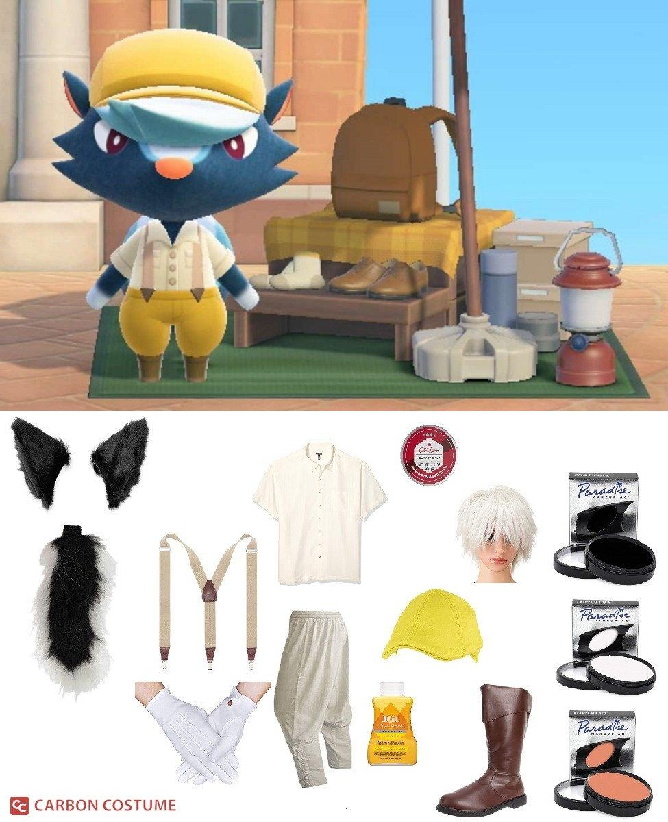 Kicks from Animal Crossing: New Horizons Cosplay Guide