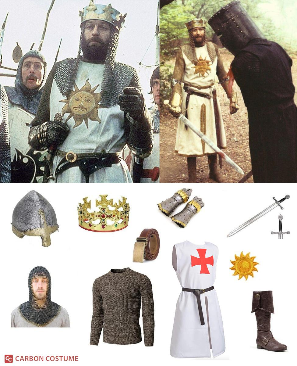 King Arthur from Monty Python and the Holy Grail Cosplay Guide