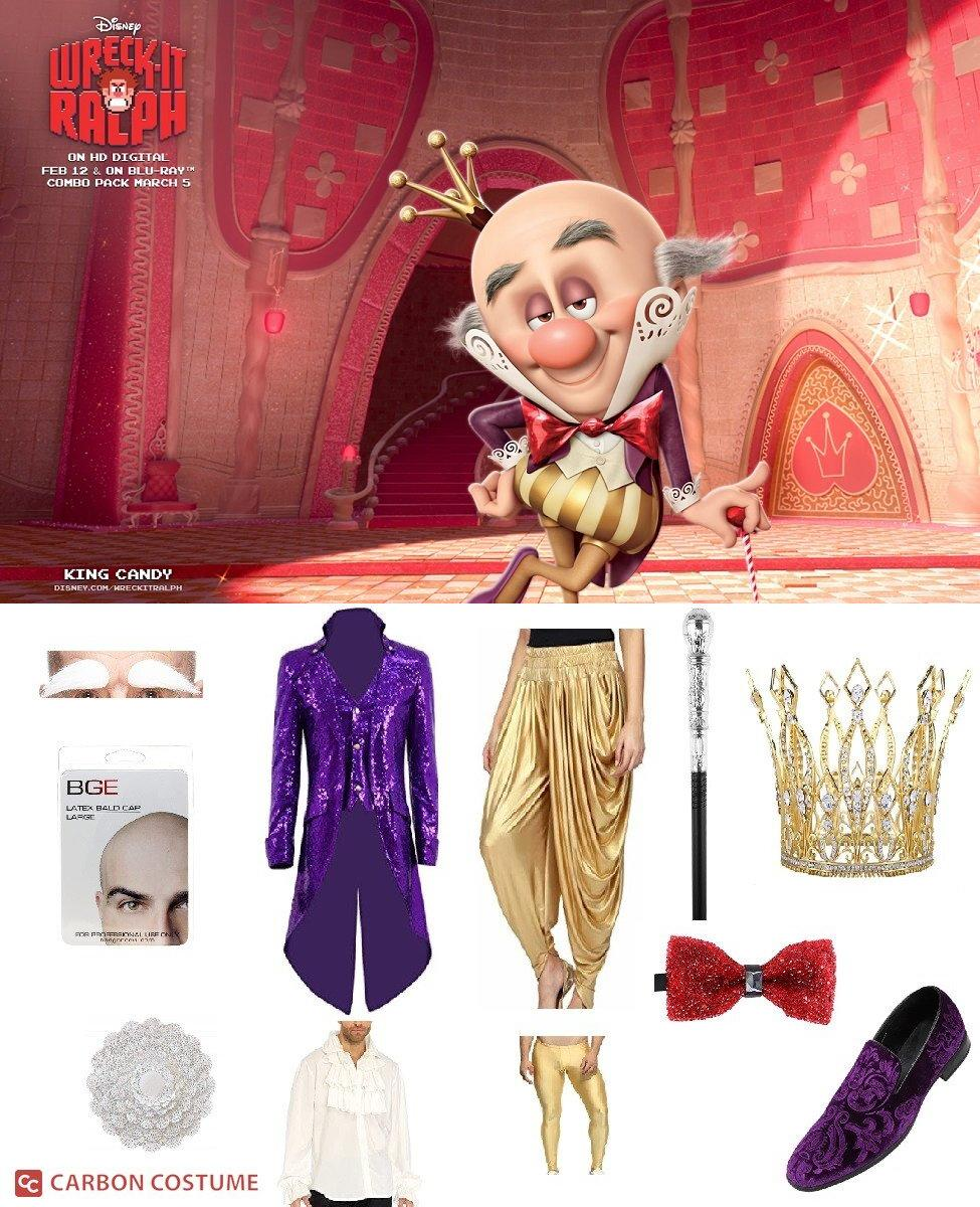 King Candy from Wreck-It Ralph Cosplay Guide