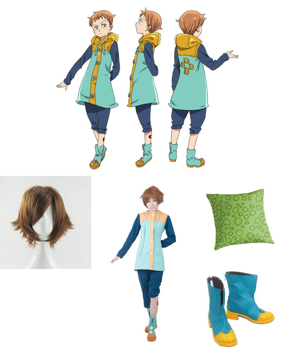 King from Seven Deadly Sins Cosplay Guide