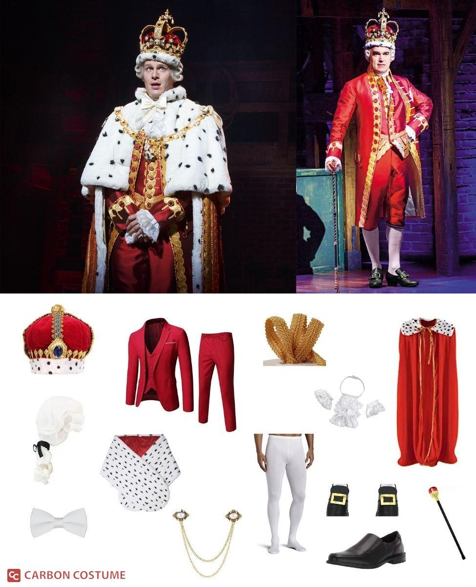 King George III from Hamilton Cosplay Guide