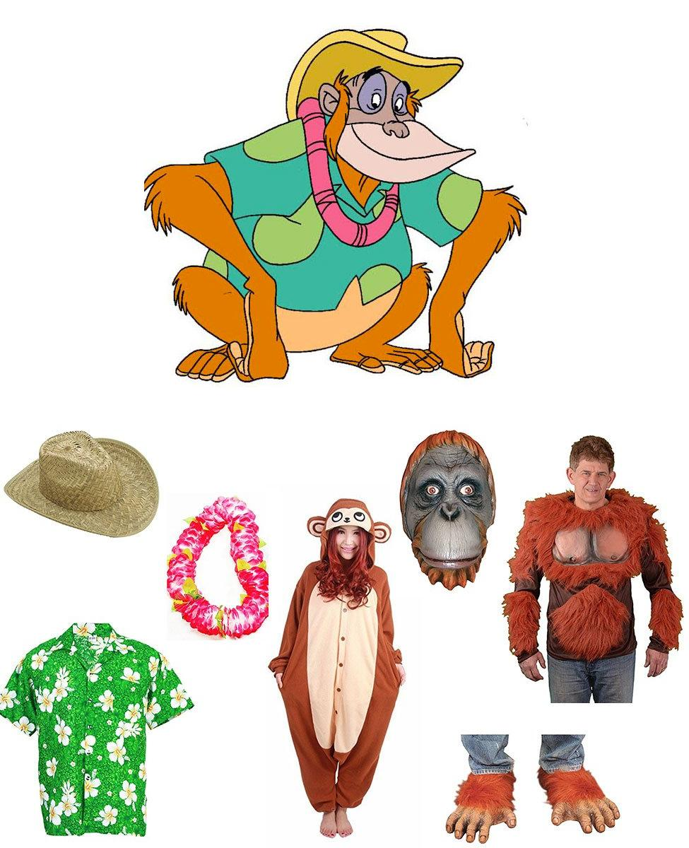 King Louie from TaleSpin Cosplay Guide
