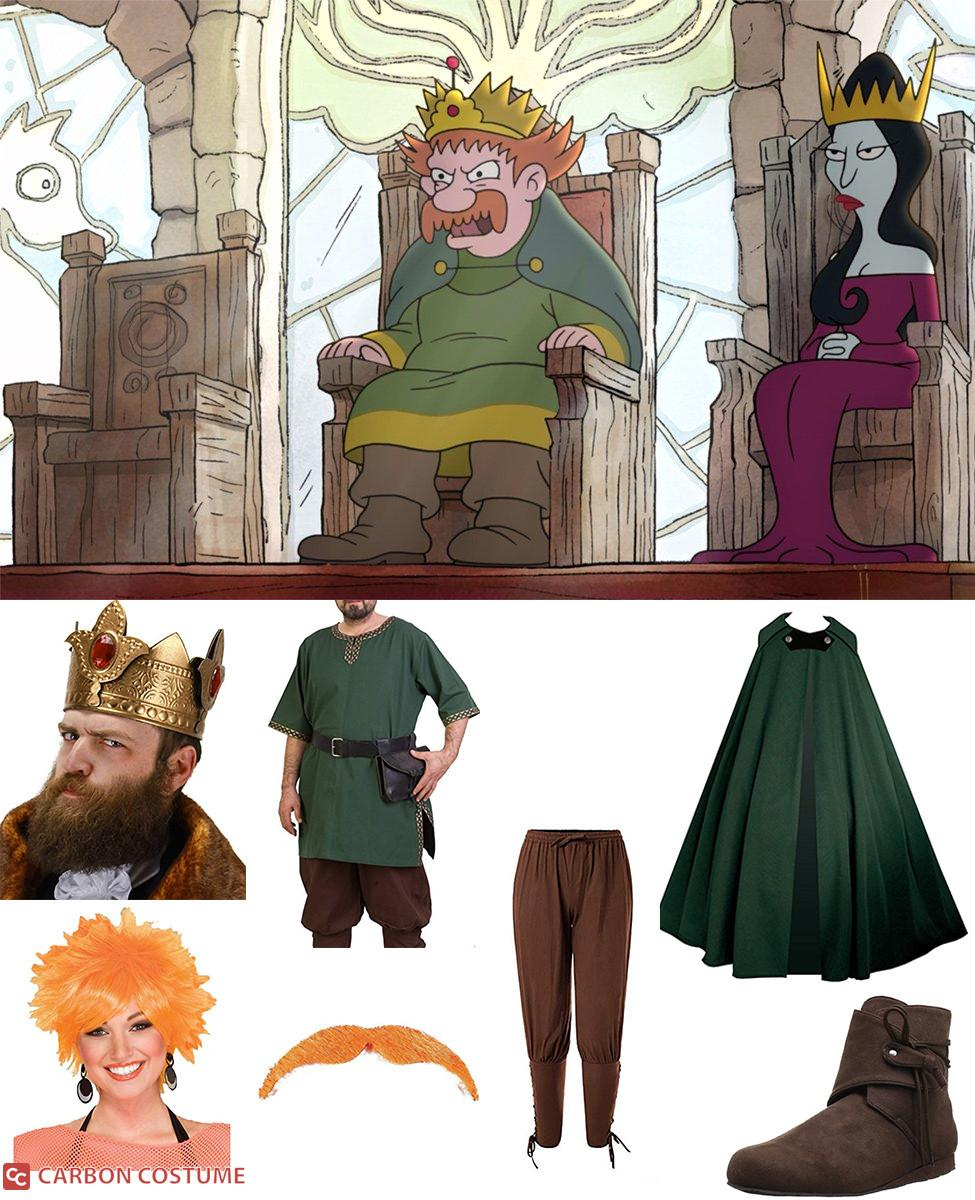 King Zog from Disenchantment Cosplay Guide