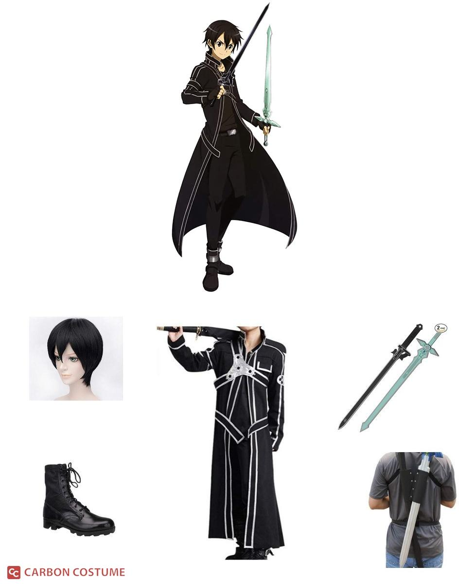 Kirito from Sword Art Online Cosplay Guide