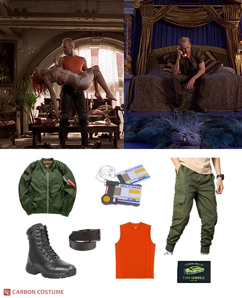 Korben Dallas from The Fifth Element Cosplay Guide