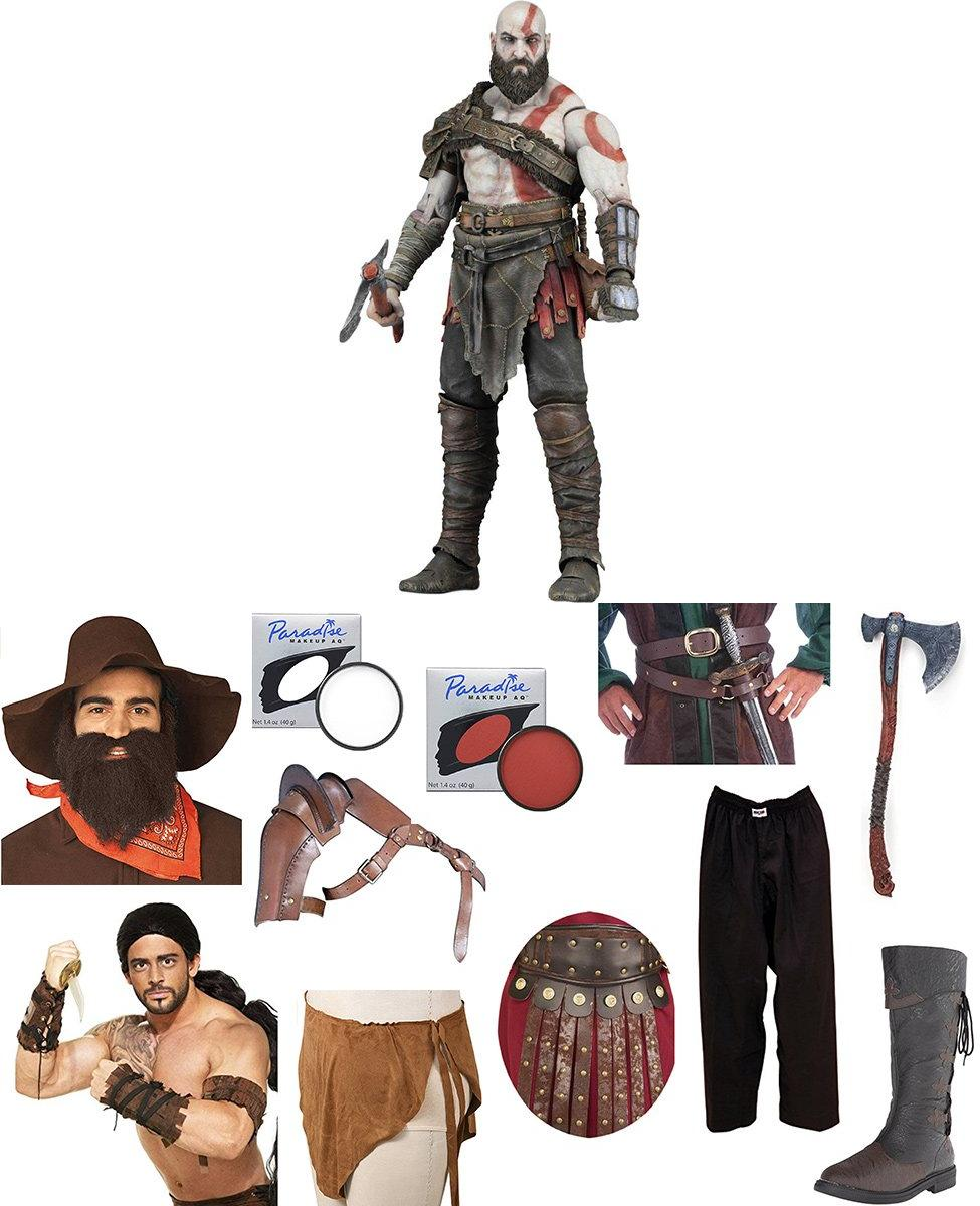 Kratos from God of War Cosplay Guide