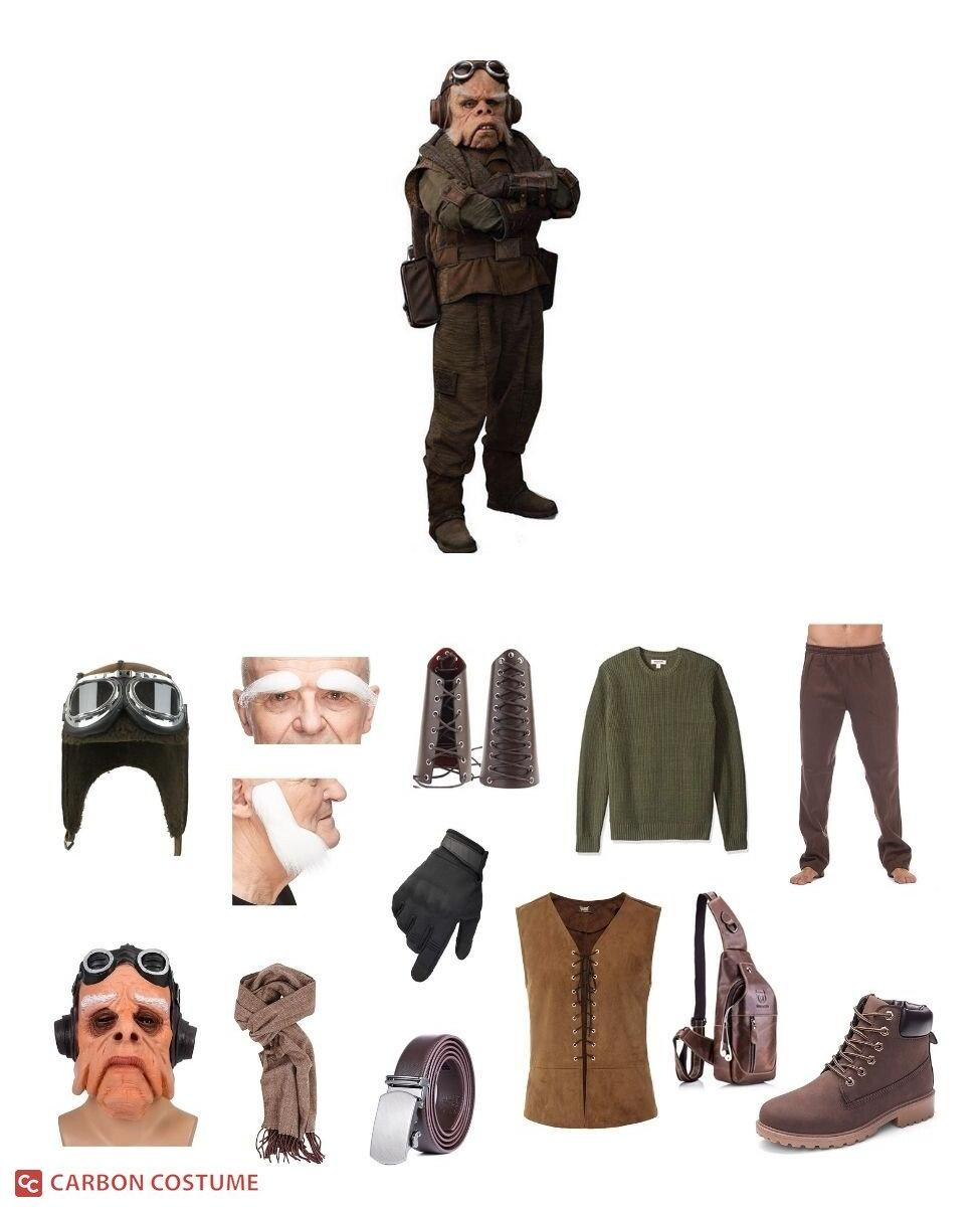 Kuiil from The Mandalorian Cosplay Guide