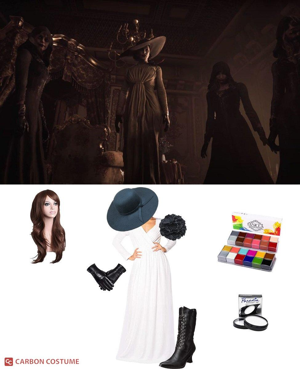 Lady Dimitrescu from Resident Evil Village Cosplay Guide