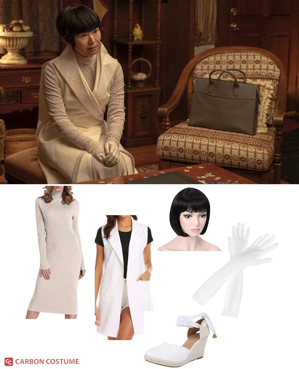 Lady Trieu from HBO's Watchmen Cosplay Guide