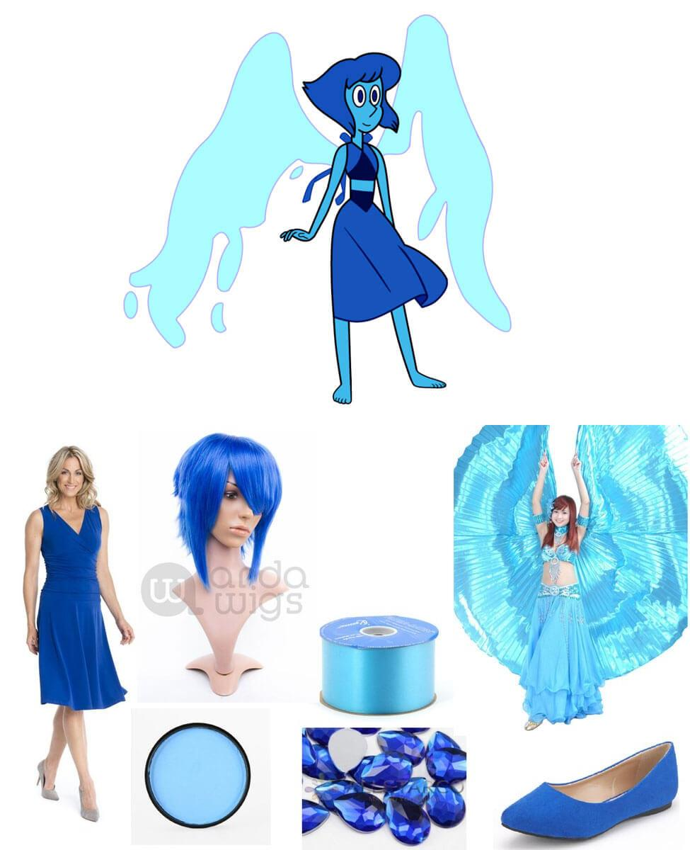 Lapis Lazuli from Steven Universe Cosplay Guide