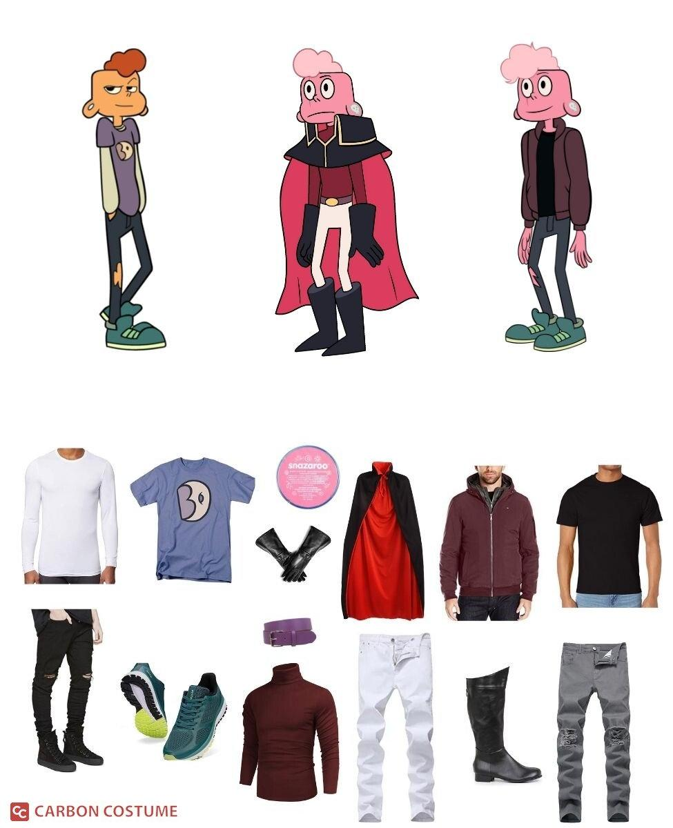 Lars Barriga from Steven Universe Cosplay Guide