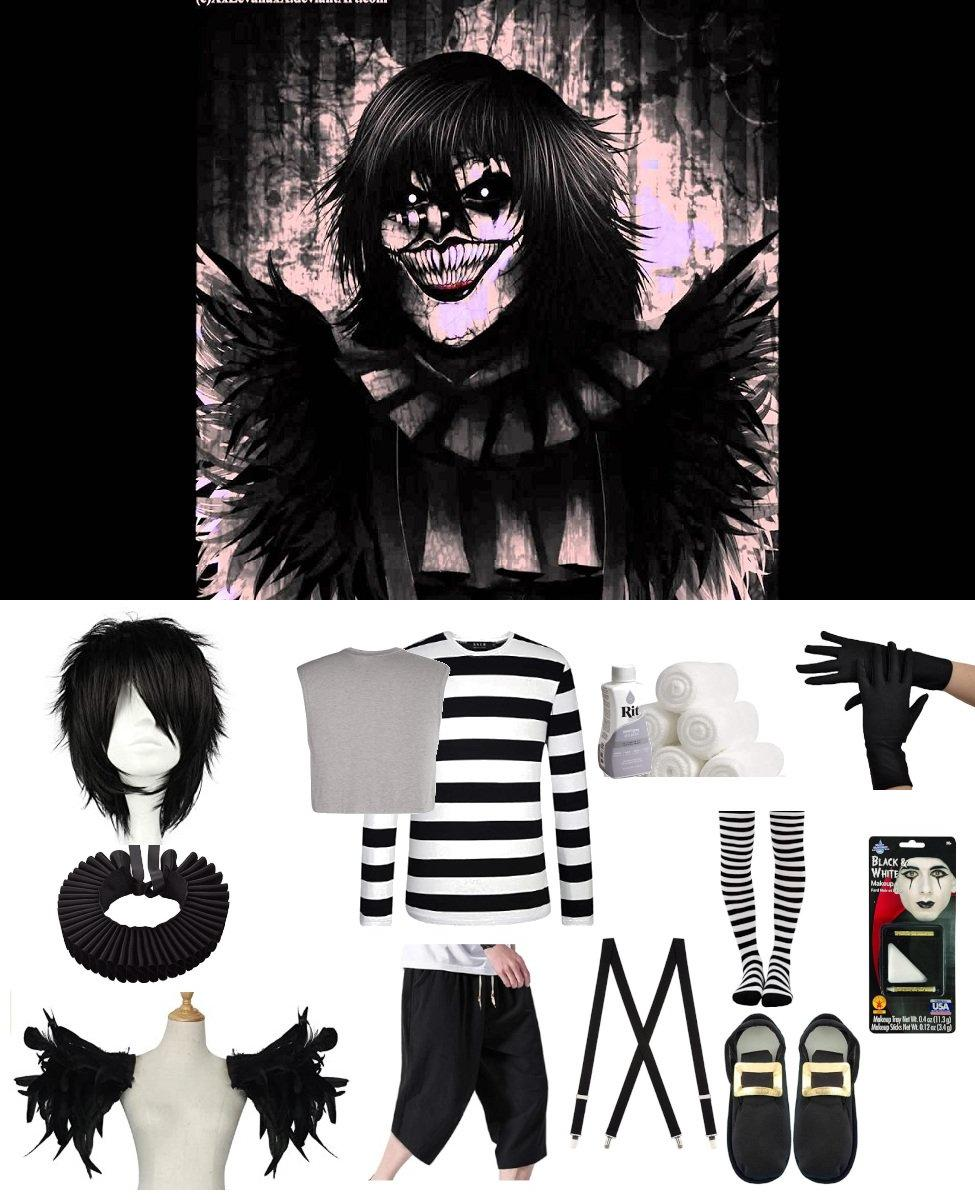 Laughing Jack from CreepyPasta Cosplay Guide