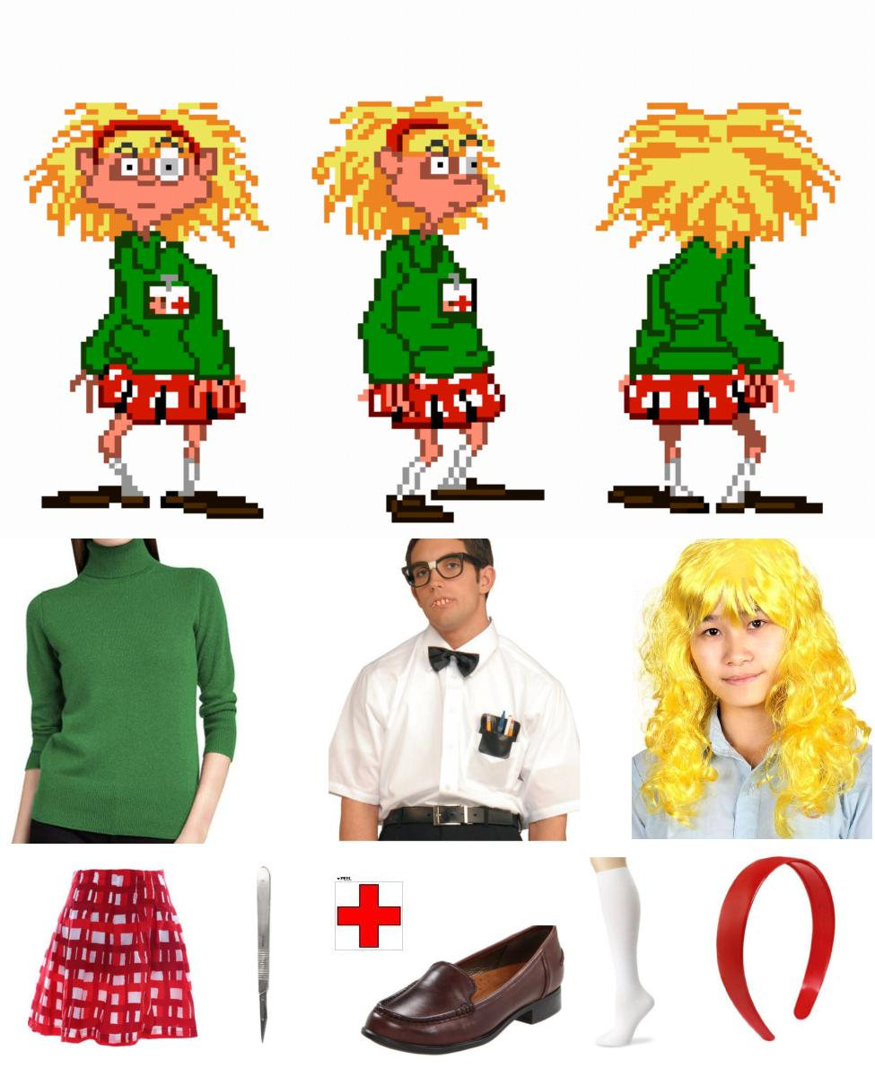 Laverne from Day of the Tentacle Cosplay Guide