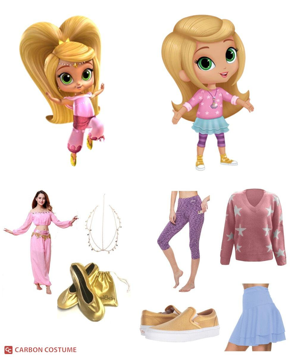 Leah from Shimmer and Shine Cosplay Guide