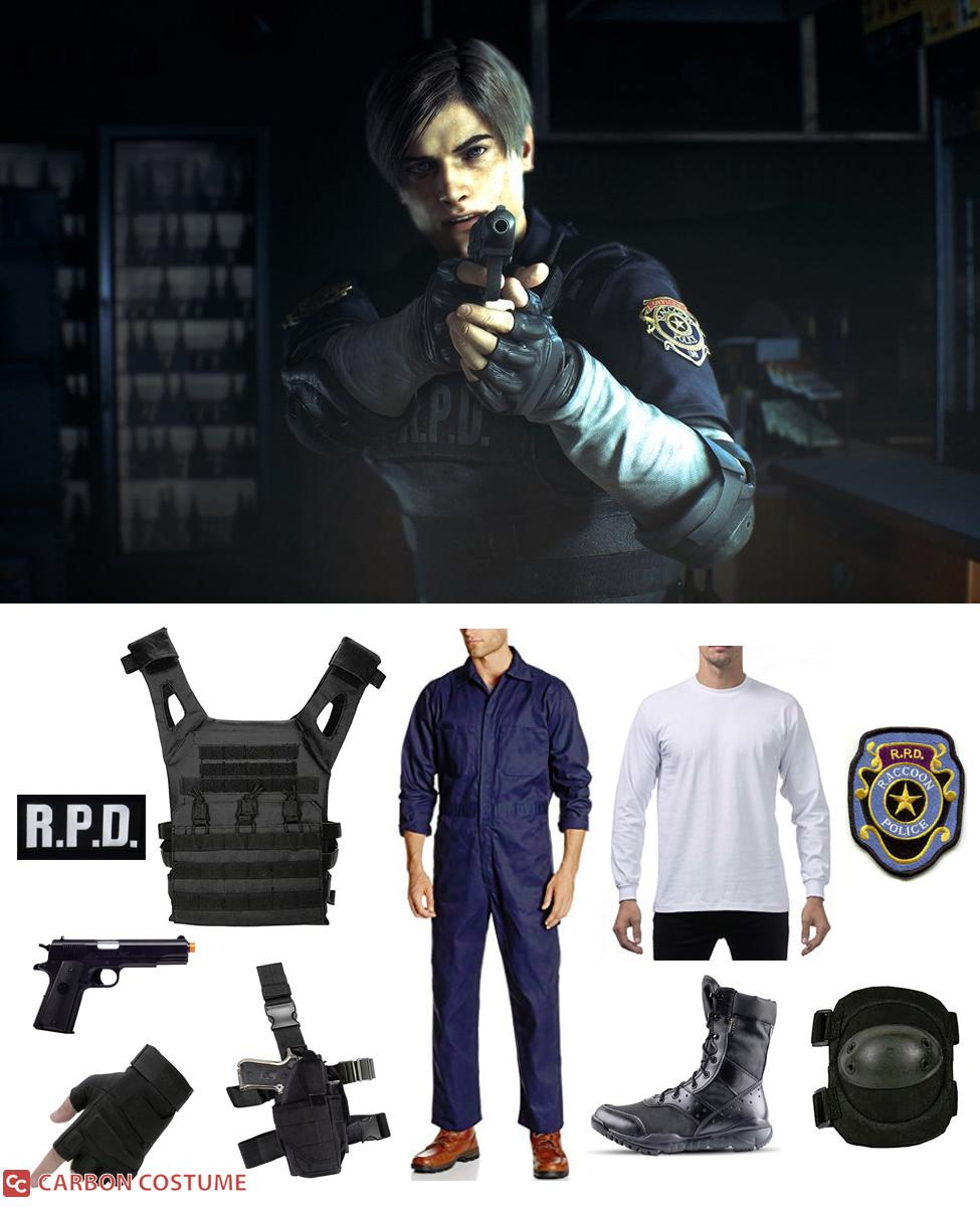 Leon S. Kennedy from Resident Evil 2 Cosplay Guide