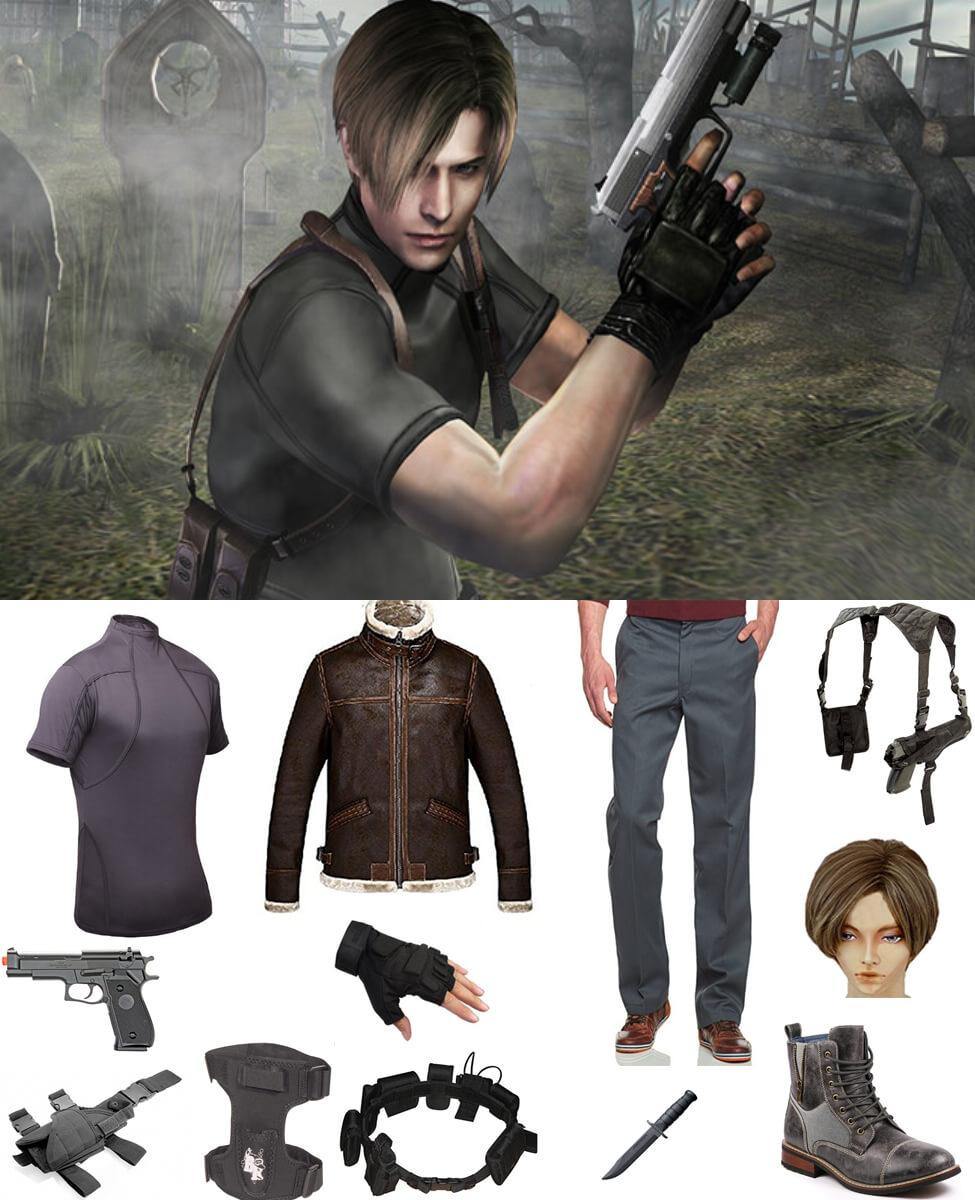 Leon S Kennedy from Resident Evil 4 Cosplay Guide