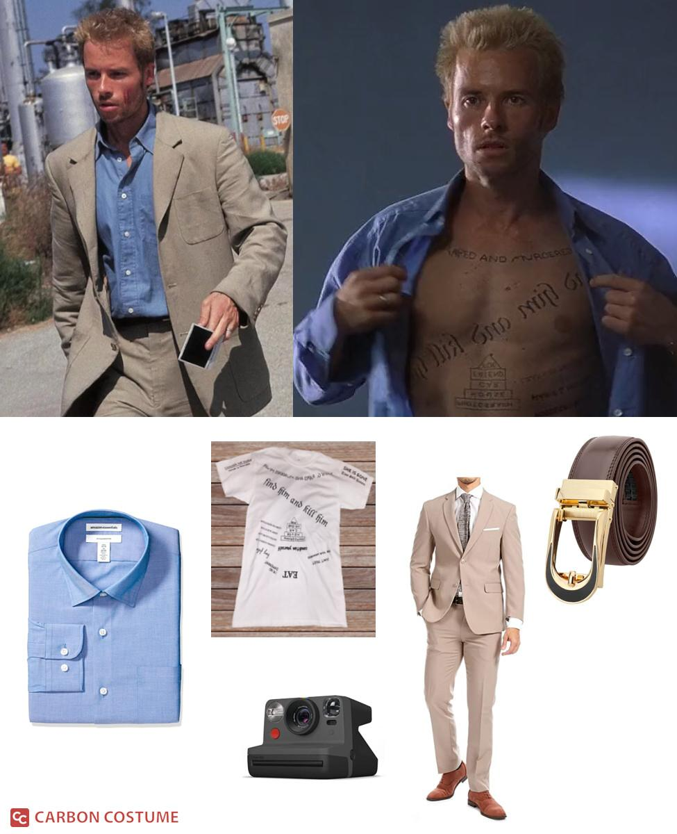 Leonard Shelby from Memento Cosplay Guide