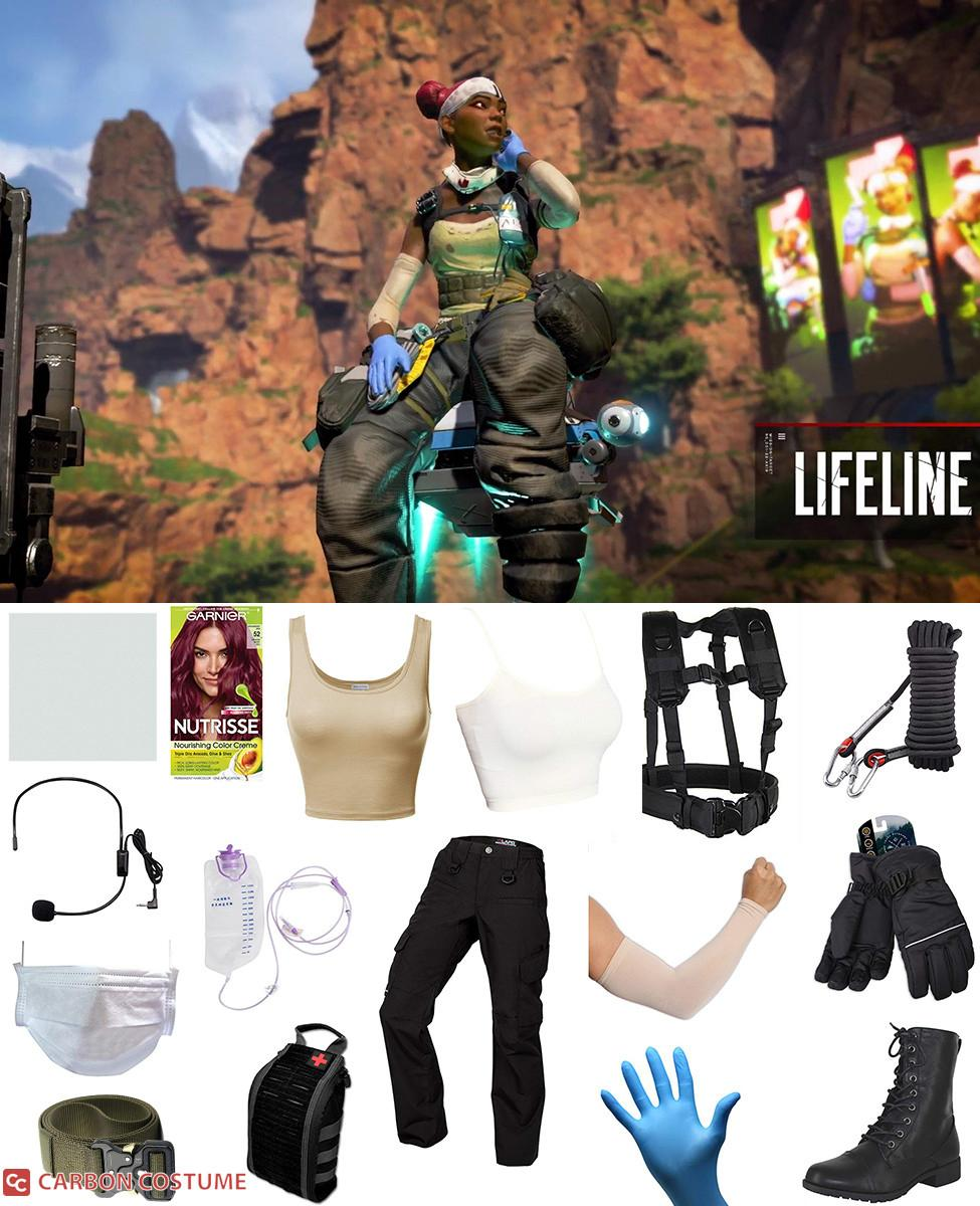 Lifeline from Apex Legends Cosplay Guide