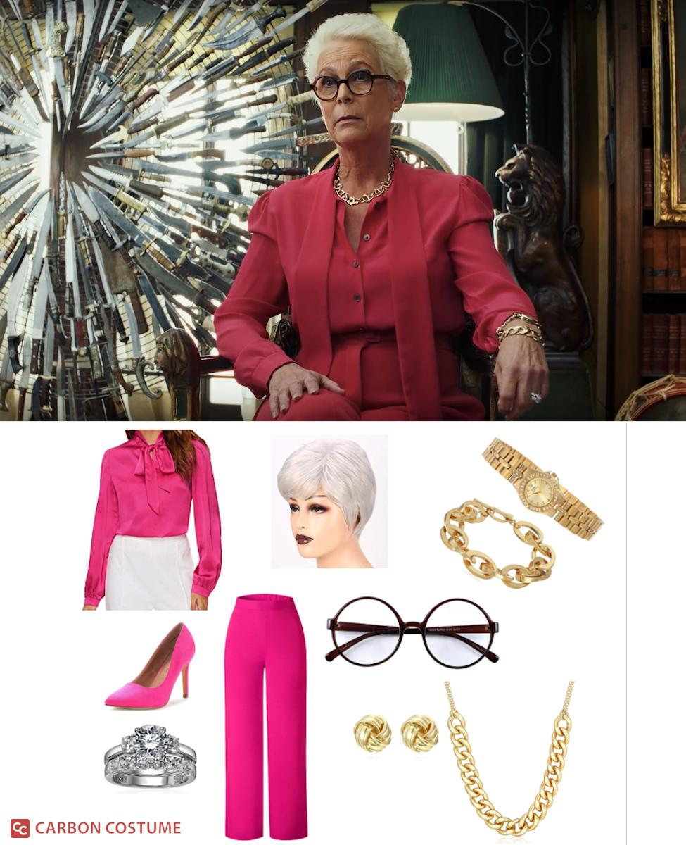 Linda Drysdale from Knives Out Cosplay Guide