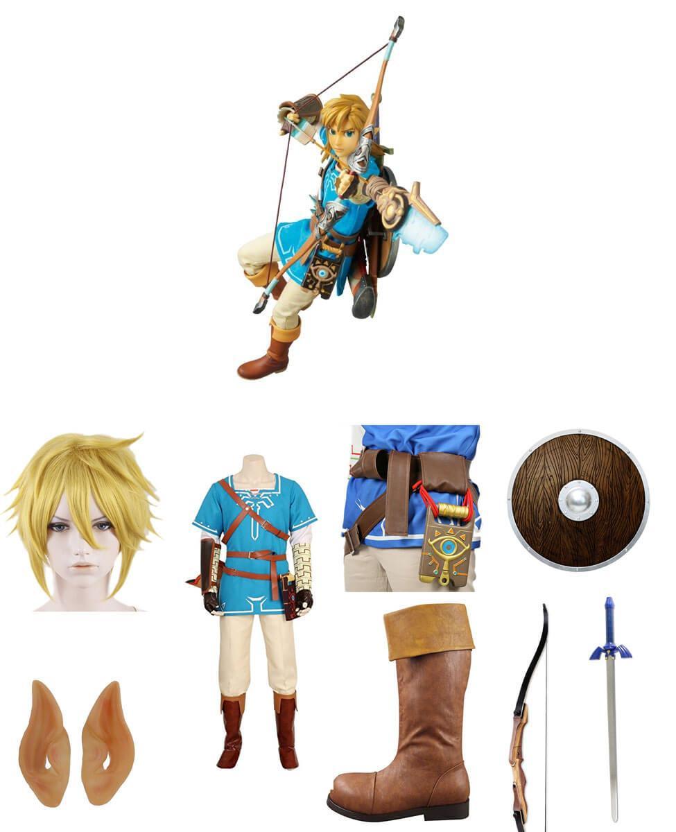 Link in Zelda: Breath of the Wild Cosplay Guide